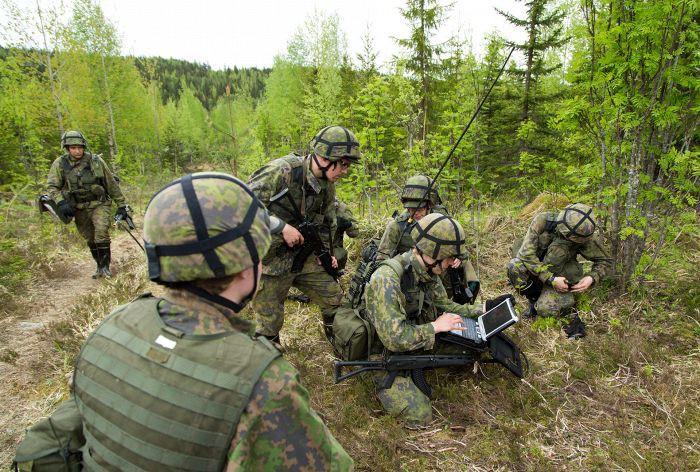 Спецназ армии Финляндии