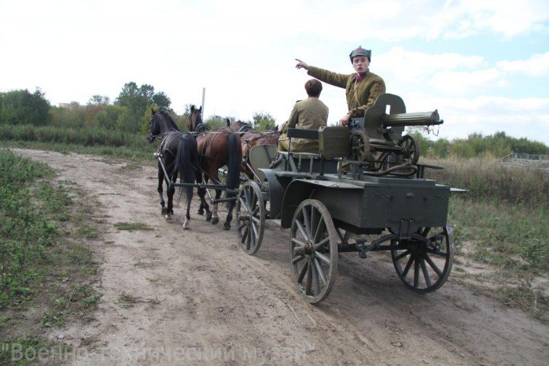 Пулеметная тачанка - боевая колесница XX века