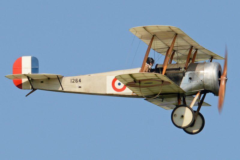 Самолет Бристоль «Скаут» - из спортивного в боевой