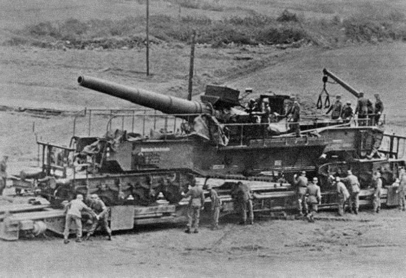 240-мм железнодорожные транспортеры «Теодор Бруно»