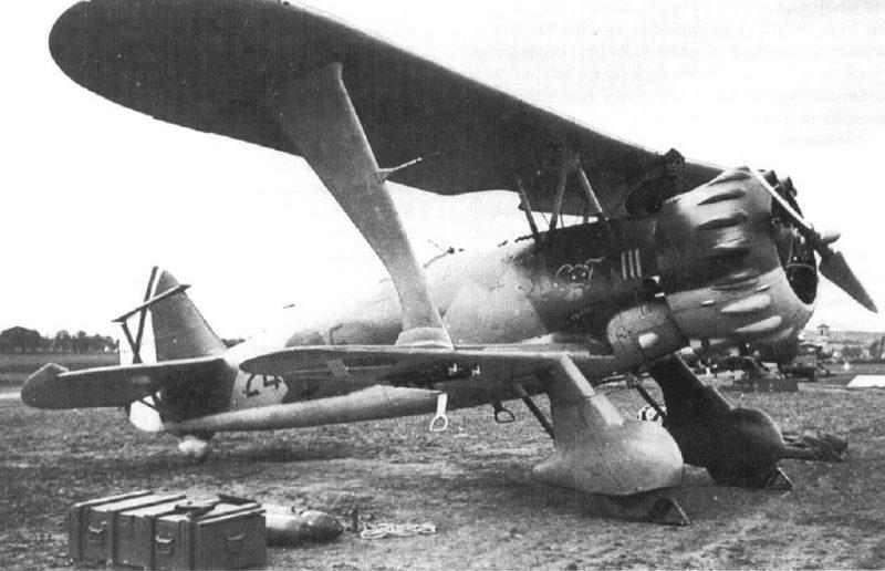 Бомбардировщик «Хеншель» HS 123