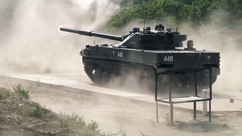 2С25 «Спрут-СД» (Объект 934) - 125-мм самоходная противотанковая пушка