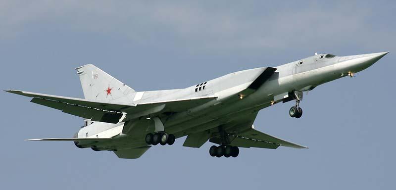 Дальний сверхзвуковой ракетоносец-бомбардировщик Ту-22М