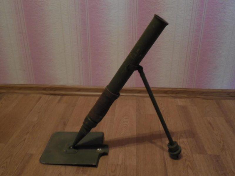 Миномет-лопата - копать или стрелять