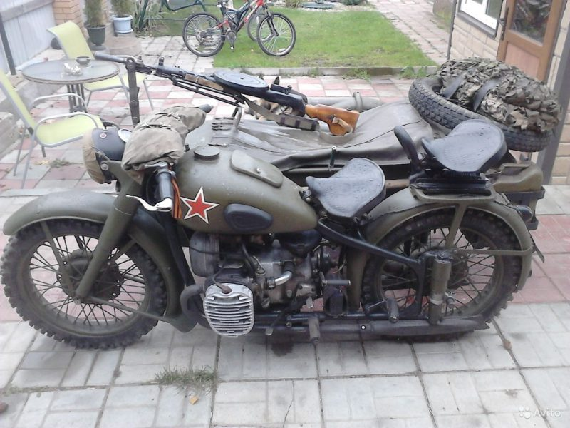 Мотоцикл М-72 - советская копия BMW-R71
