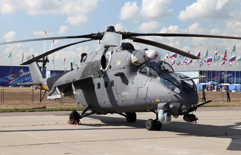 Модернизация вертолетов Ми-24