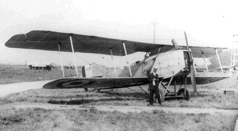 Бомбардировщик «Бреге 14»