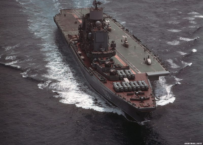 Корабли проекта 1143 - первые авианесущие крейсера советского флота