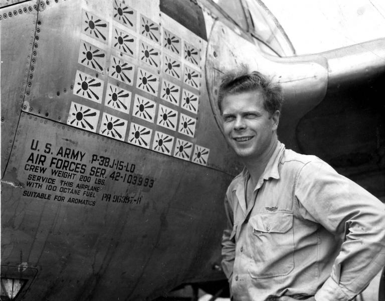 Ричард Айра Бонг - самый результативный пилот США