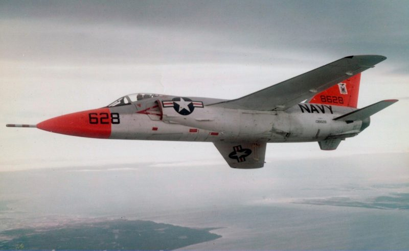 Грумман F11F «Тайгер» - первый сверхзвуковой палубный истребитель