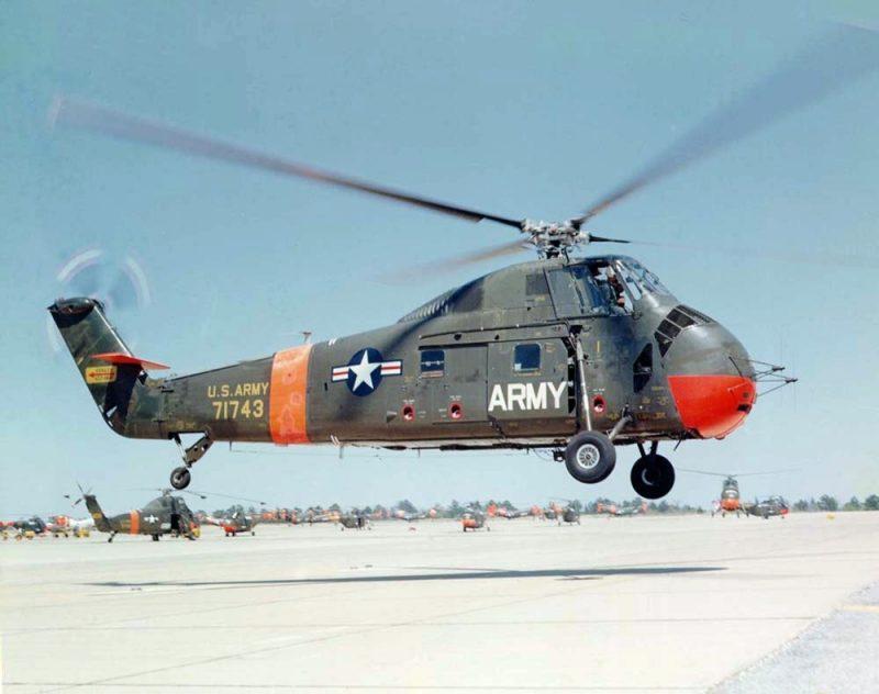 Вертолет Сикорский H-34 «Чокто»