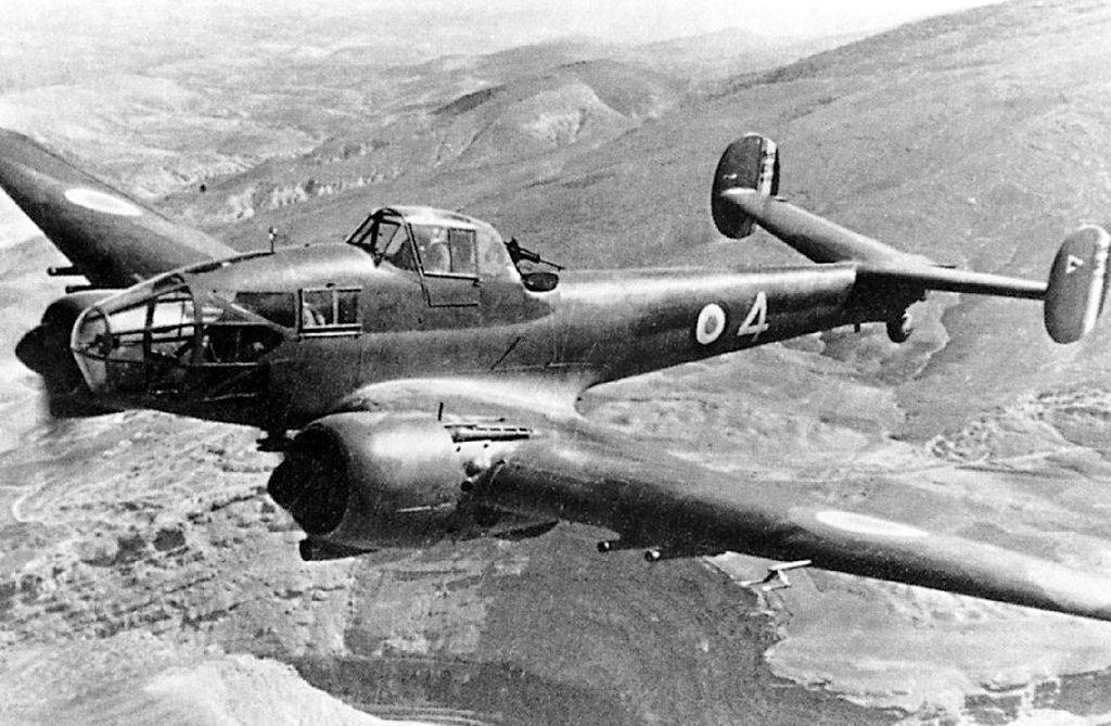 Двухмоторный истребитель Потез Р-630/631