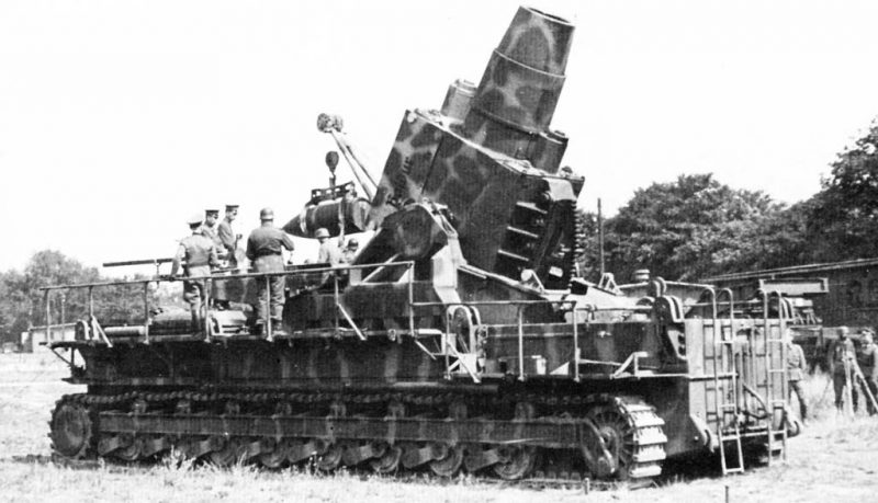 600-мм самоходная мортира «Карл»