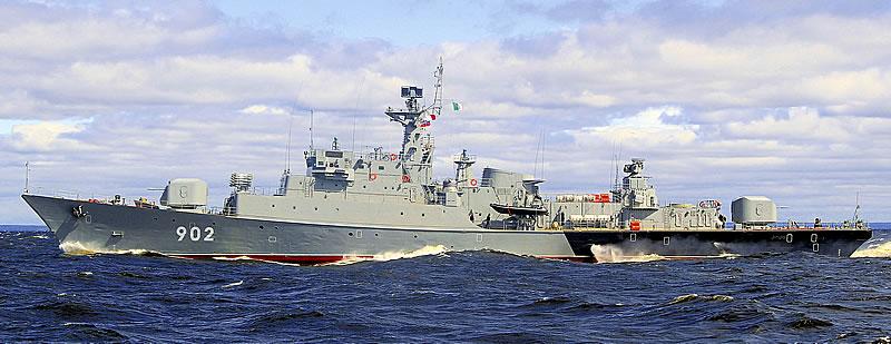Корабли проекта 1159 - сторожевики для экспорта
