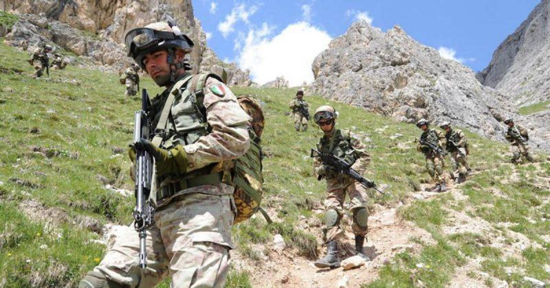 Тактика боевых действий в горах