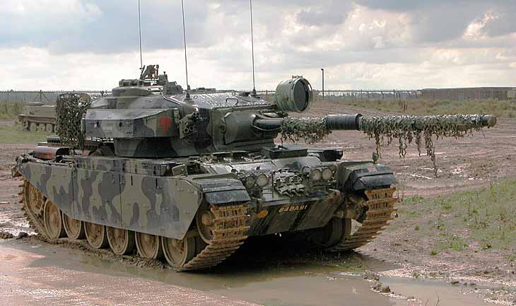 Средний пушечный танк «Центурион»