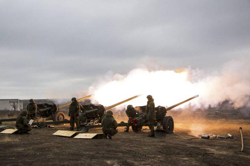 Современная артиллерия - «суровый бог войны» за работой