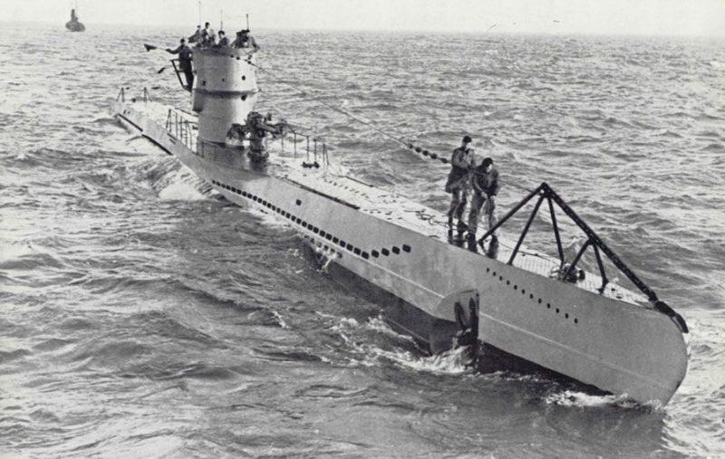 Подводные лодки типа VII - главный козырь кригсмарине