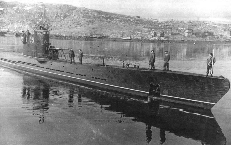 Подводные лодки типа «С» (средняя)