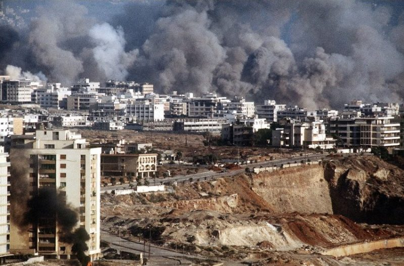 Война в Ливане - операция «Мир Галилее»