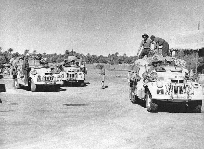 Операция «Караван» - рейд через пустыню