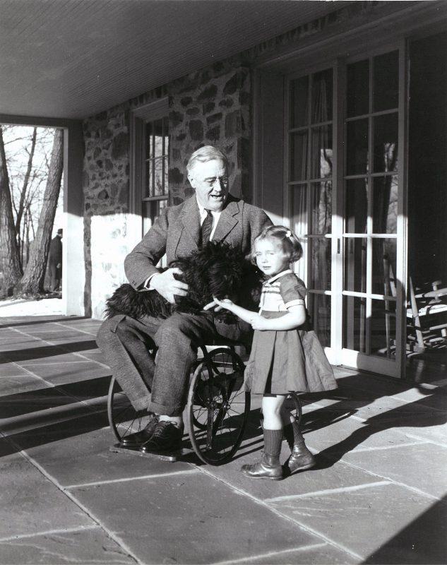 32-й президент США Франклин Рузвельт