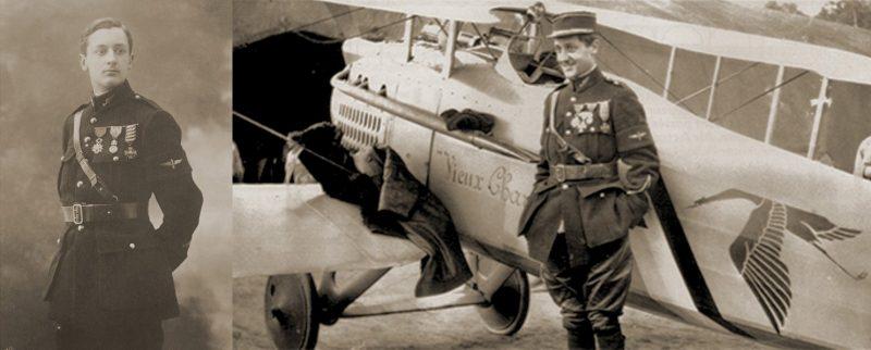 Жорж Гинемер - французский летчик-ас