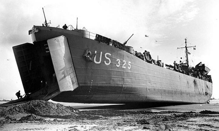 Десантные корабли LST - «выбрасывающиеся» танконосцы