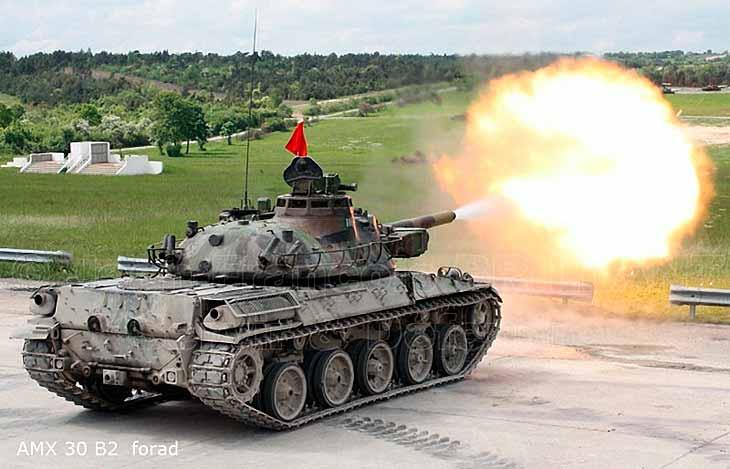 AMX-30 - основной боевой танк Франции