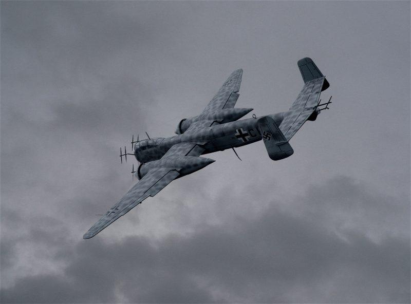 Истребитель Хейнкель Не 219 «Уху» - «филин» люфтваффе