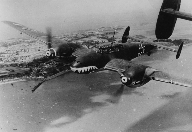 Тяжелый истребитель Мессершмитт Bf 110