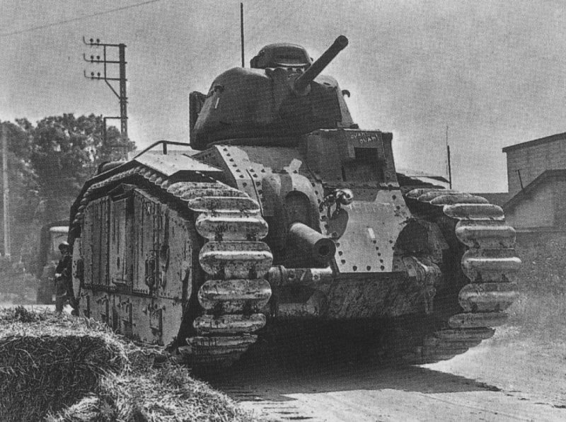 Тяжелый танк B1