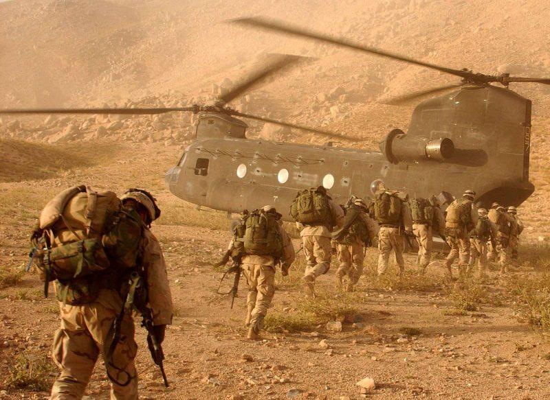 Пограничье Афганистана и Пакистана