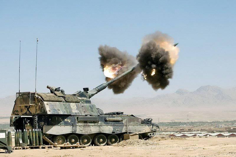 Самоходная артиллерийская установка (САУ)  Panzerhaubitze (PzH) 2000