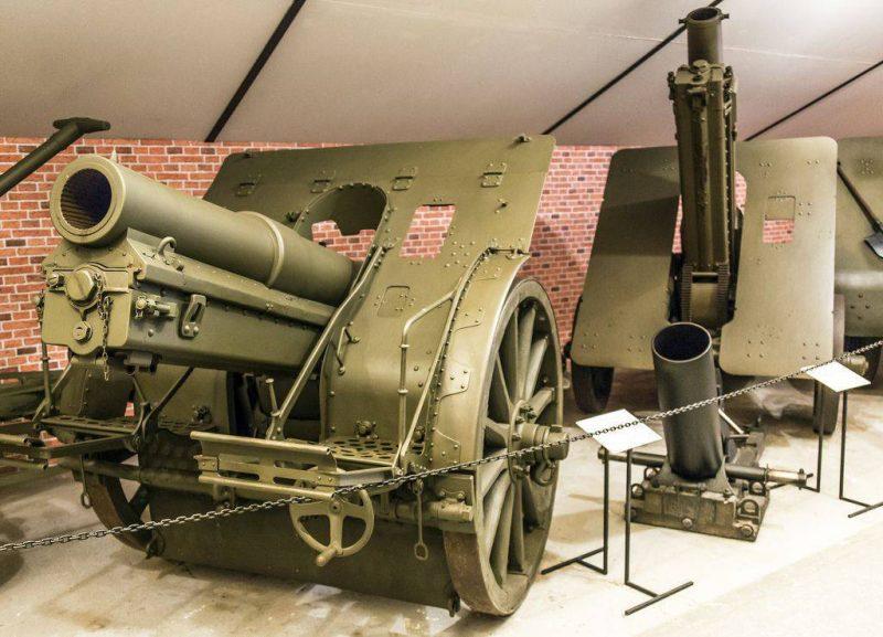 149-мм тяжелая полевая гаубица «Шкода» М 14 (М 14/16)