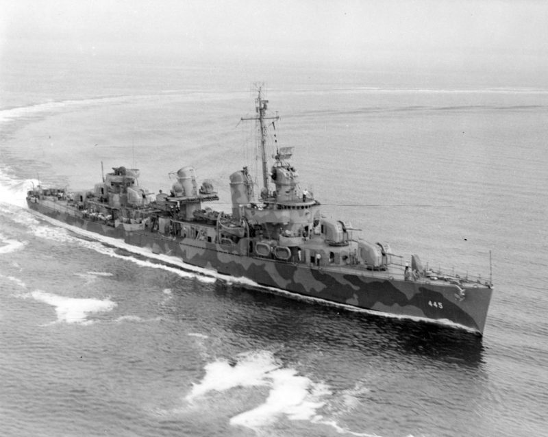 Эсминцы типа «Флетчер» - уникальное сочетание количества и качества