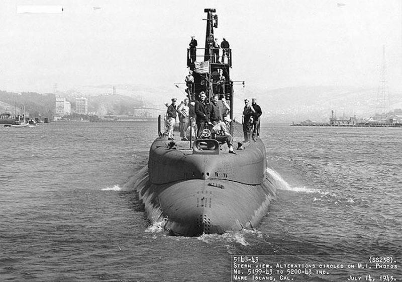Подводная лодка SS-238 «Ваху»