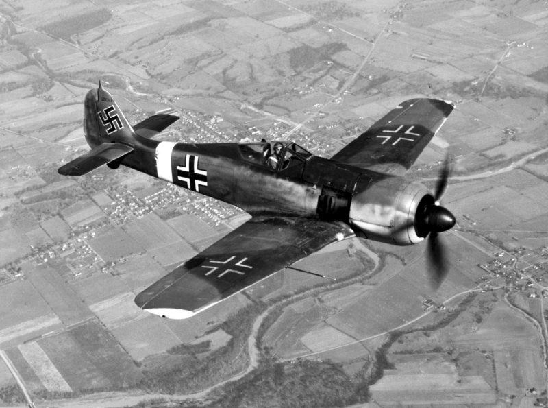 Истребитель «Фокке-Вульф» FW190