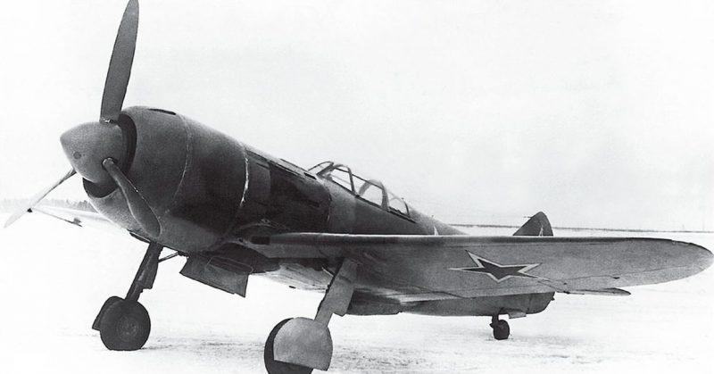 Истребители Ла-5 и Ла-7