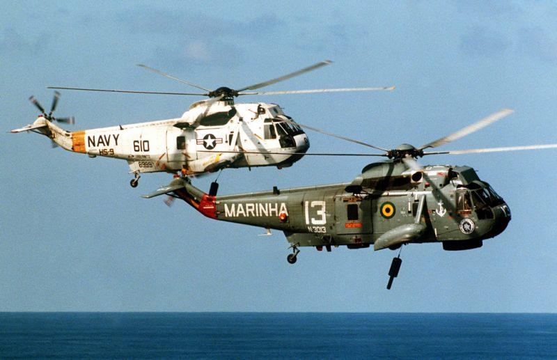 Многоцелевой вертолет Сикорский SH-3 «Си Кинг»