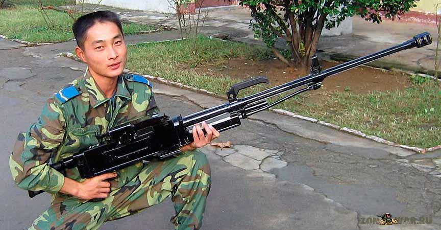 Китайский крупнокалиберный пулемет Тип 89