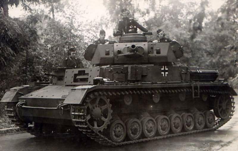 Средний танк Pz. IV - «рабочая лошадка» панцерваффе