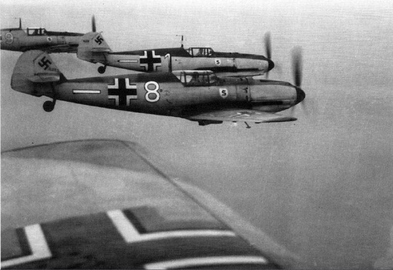 Истребитель «Мессершмитт» Bf 109