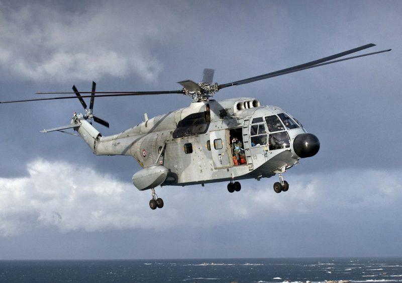Тяжелый вертолет SA.321 «Супер Фрелон»