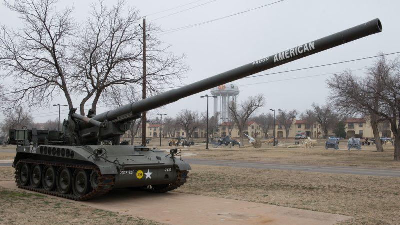 175-мм САУ M107 - для ядерной и неядерной войны