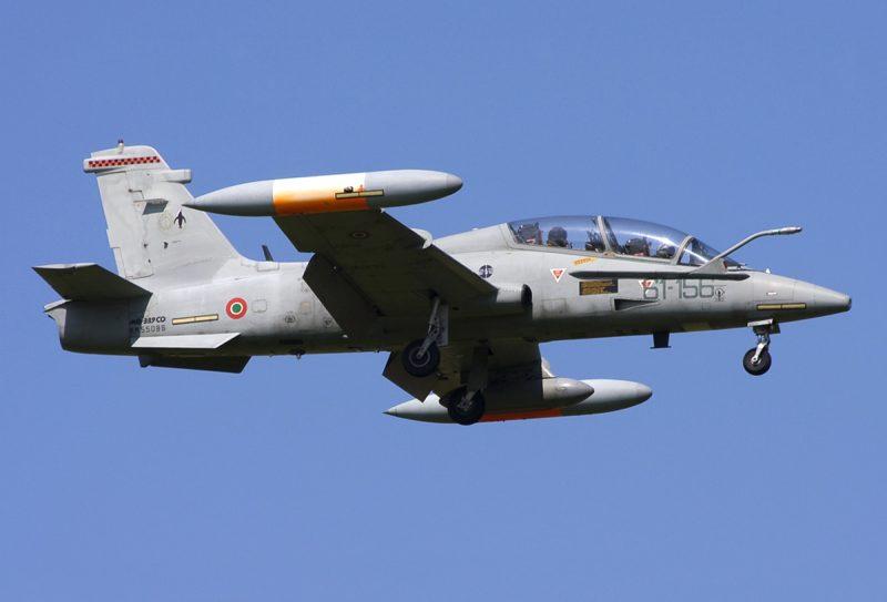 Учебно-боевой самолет «Аэрмакки» МВ-339