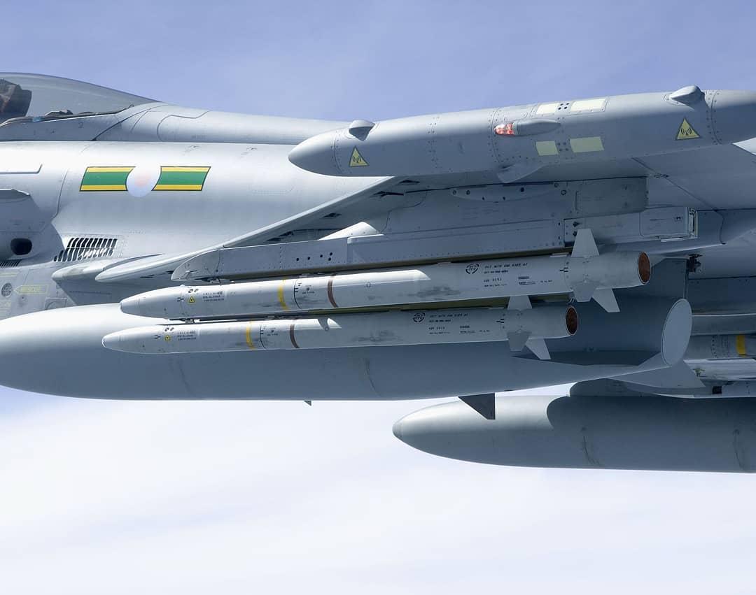 Управляемые ракеты «воздух - воздух» малой дальности AIM-132 ASRAAM