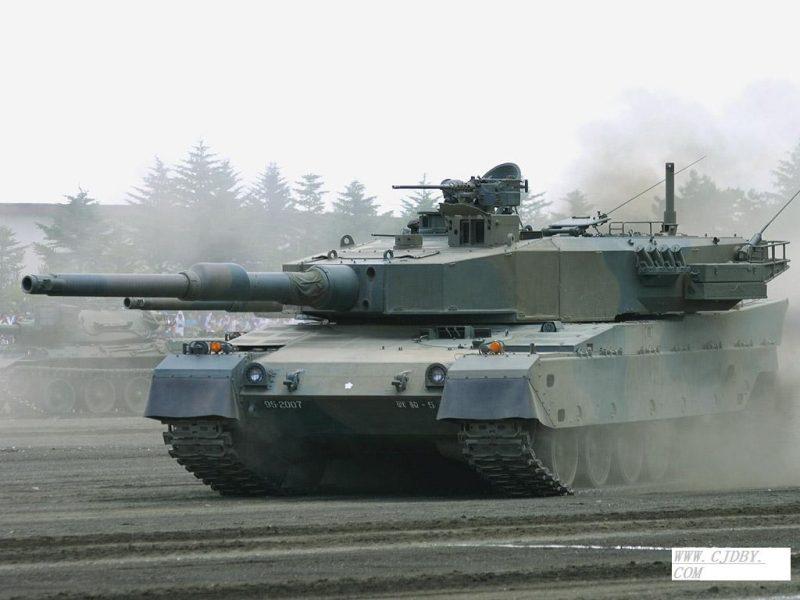«Тип 90» - самый дорогой танк четвертого поколения