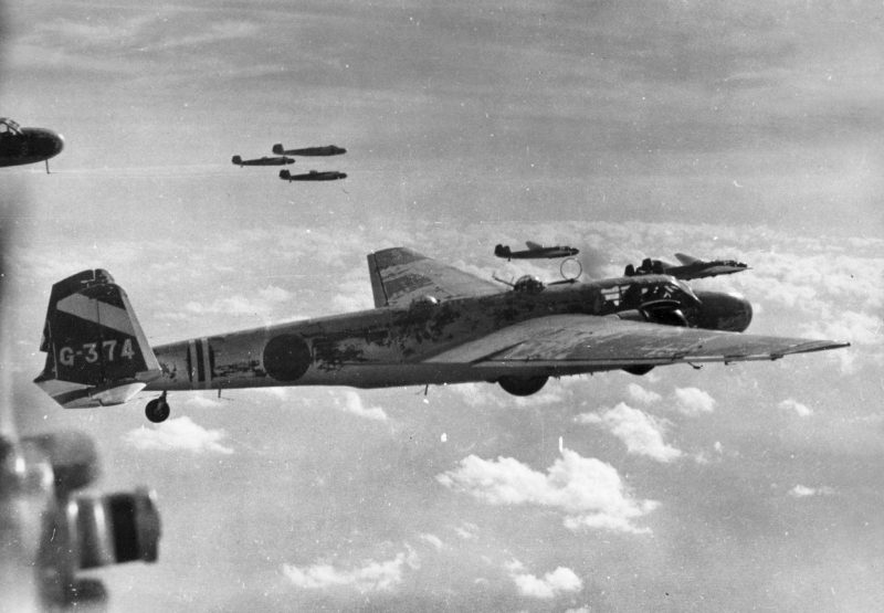 Бомбардировщик-торпедоносец «Мицубиси» G3M