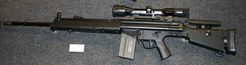 Снайперские винтовки «Хеклер унд Кох» PSG-1 и MSG-90
